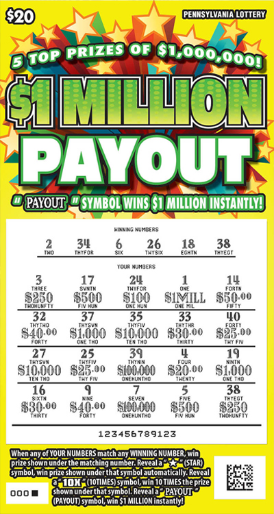 Pennsylvania Lottery - Instant Games – PA Lottery Game & Lottery ...