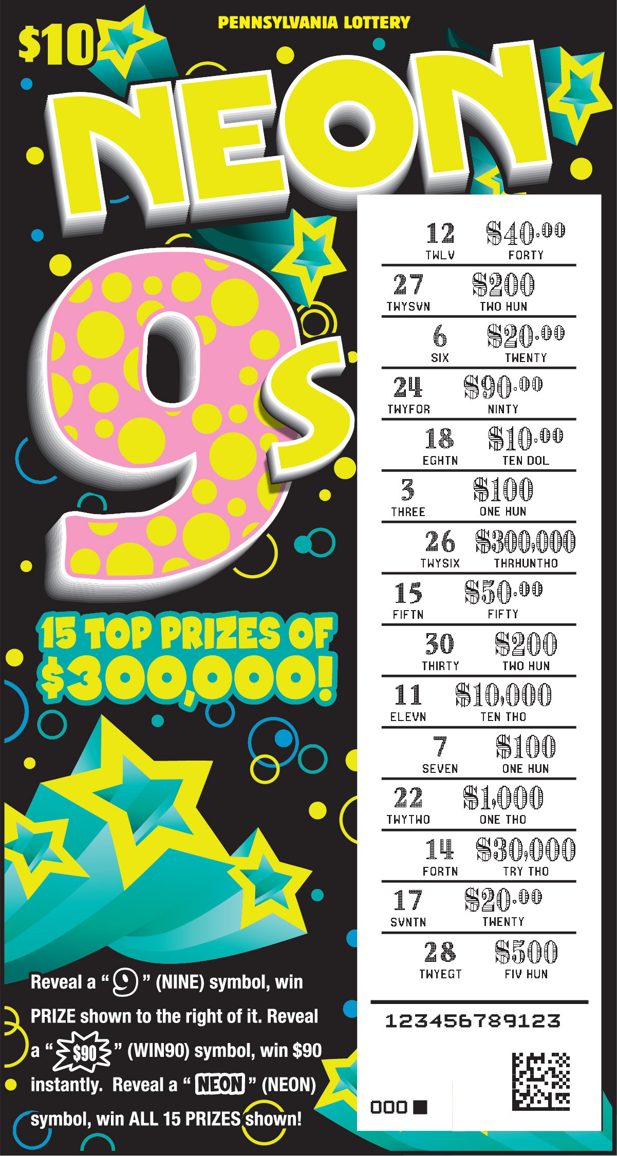pennsylvania lottery game with best odds