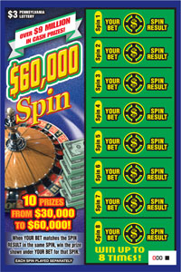 $60,000 Spin