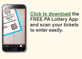 Download the FREE PA Lottery App!
