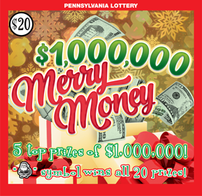 $1,000,000 Merry Money