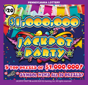 $1,000,000 JACKPOT PARTY®