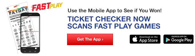 Instant Ticket Checker, Use the App to See if You Won!
