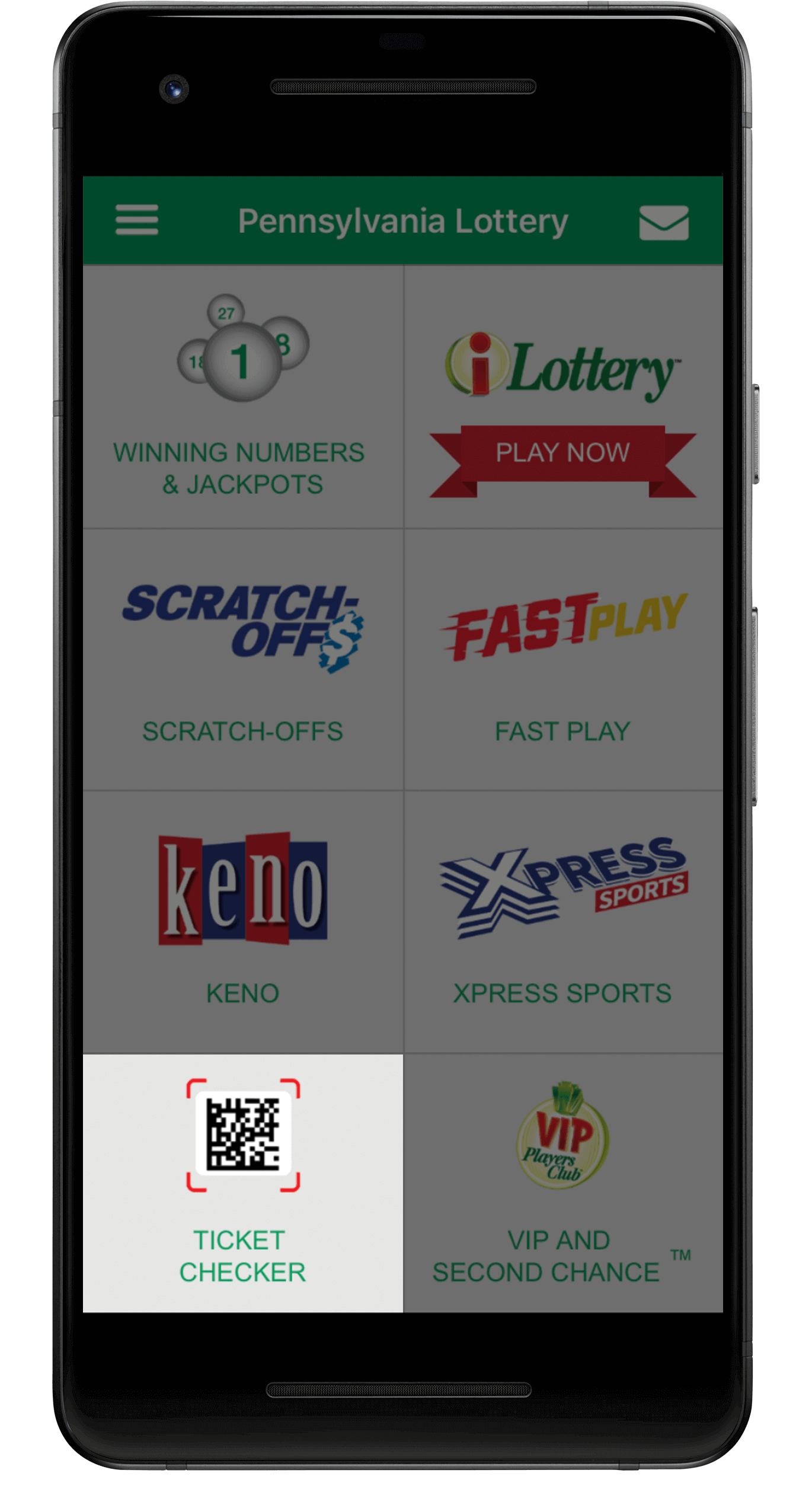 2nd Chance Lottery App