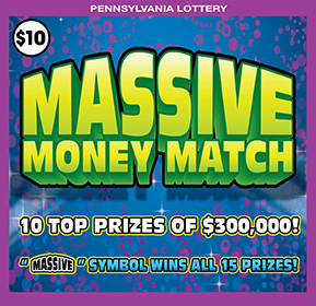 Pennsylvania Lottery - Scratch-Offs - Active Games