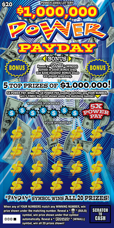 $1,000,000 Power Payday