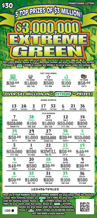 Take 5 lottery prizes remaining