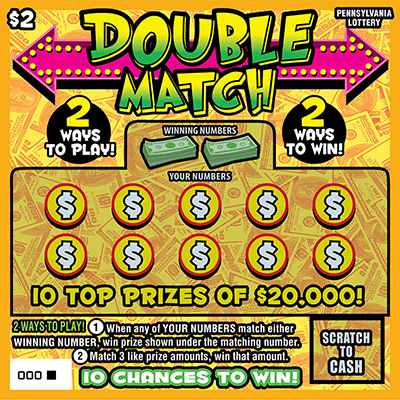 Pennsylvania Lottery - Scratch-Offs - Double Match