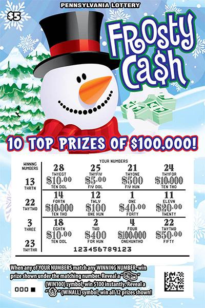 Pa lottery state pa us remaining prizes pa