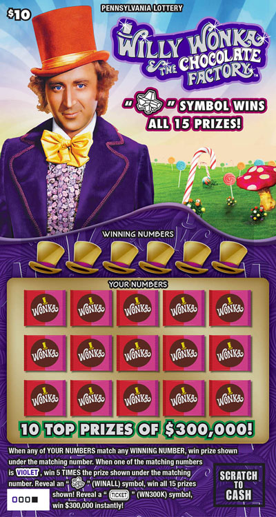 WILLY WONKA AND THE CHOCOLATE FACTORY<sup>&trade;</sup>